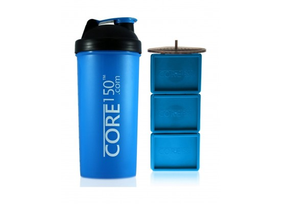Core 150 Attitude Protein Shaker Bottle - Blue