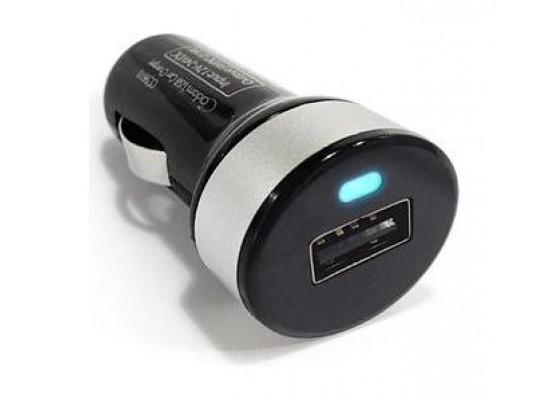 PQI I-Car Charger with Lightning - Micro USB Cable 10W - Silver