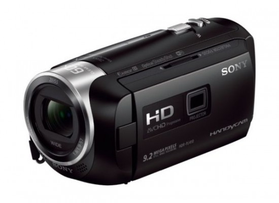 Sony HDR-PJ410 9.2MP 2.7-inch 8GB Handycam with Built-In Projector - Black