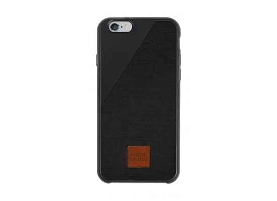 timeless design 29b1b e23d6 Native Union CLIC 360° Canvas Protective Case for iPhone 6 - Black ...