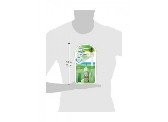 Tropiclean Fresh Breath Oral Care Kit, For Small Dogs