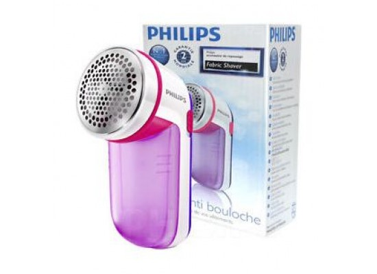 Philips Fabric Shaver - GCO26/30  (White/Purple)