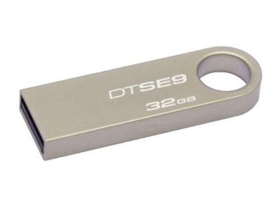 Kingston DataTraveler 32GB USB 2.0 Flash Drive Model DTSE9H/32GBZ