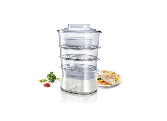 Philips Food Steamer 900W 9Litres - HD9125/01