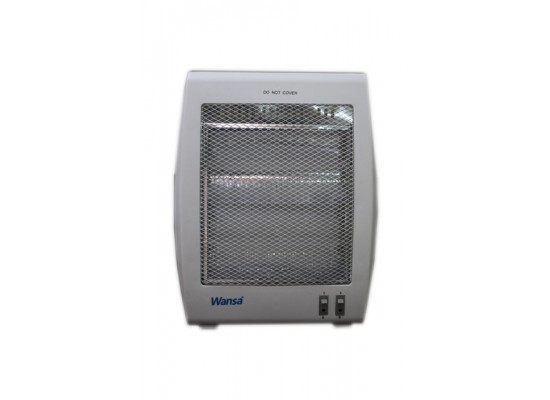 Wansa 800W 2 Lamps Halogen Electric Heater - AE-3002