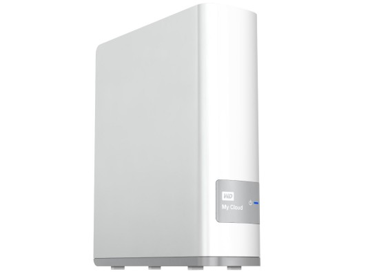 WD My Cloud 4TB Personal Cloud Storage NAS (WDBCTL0040HWT) - White