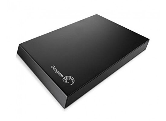 Seagate Expansion 2TB 3.0 2.5-inch Portable Hard Drive (STBX2000401) - Black