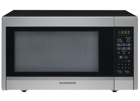 Daewoo Microwave (KOR-22AS) Basic 1000 W - Silver