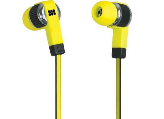 Promate Swish Universal Trendy Stereo Headphones Yellow