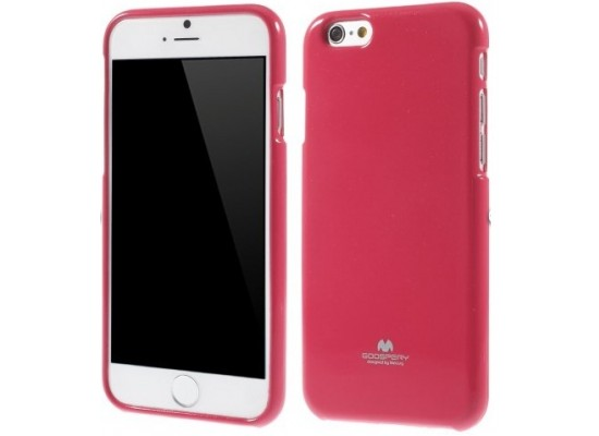 innovative design 470fb a0c53 Goospery Jelly Case for iPhone 6 Plus Hot Pink | Xcite Alghanim ...