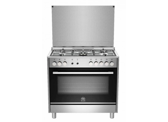 La Germania 90x60 Gas Cooker (TUS95C31DX) – Silver