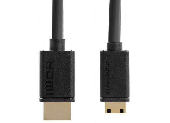 Promate Linkmate H2L HDMI to Mini HDMI 3M Cable Black