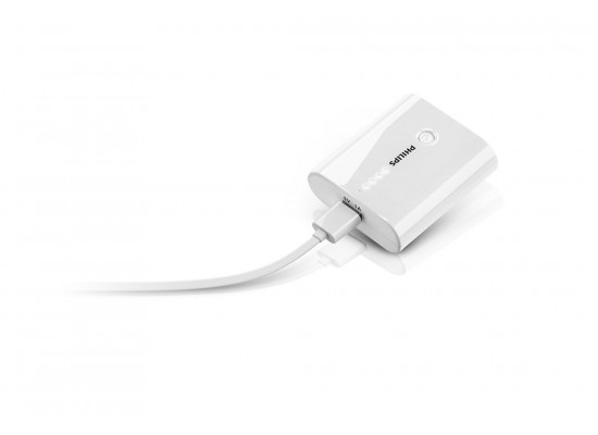 Philips 5200mah Powerbank With Micro Usb And Pouch