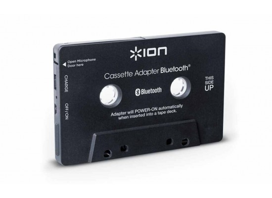 Ion Bluetooth Music Cassette Adapter/Receiver for Cassette Decks