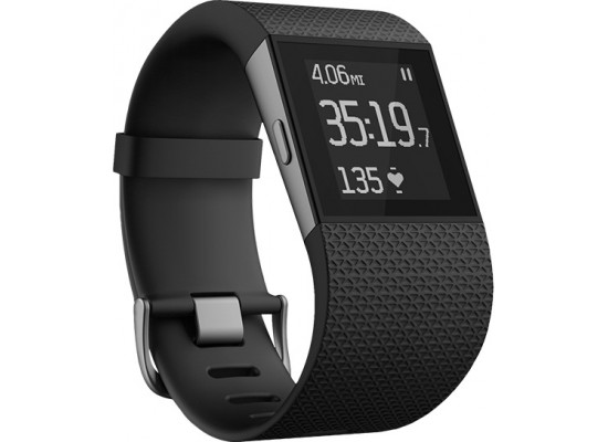 Fitbit Surge Small Fitness Super Watch - Black