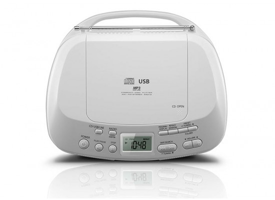 Toshiba TY-CRU12 Portable CD/Radio Player with Remote 13W - Blue