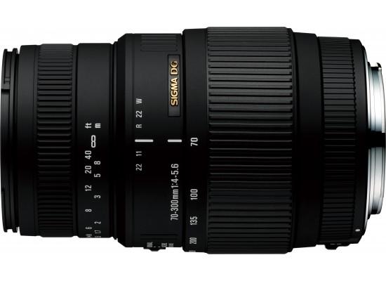 Sigma 70-300mm F4-5.6 DG Macro Lens - Canon Mount