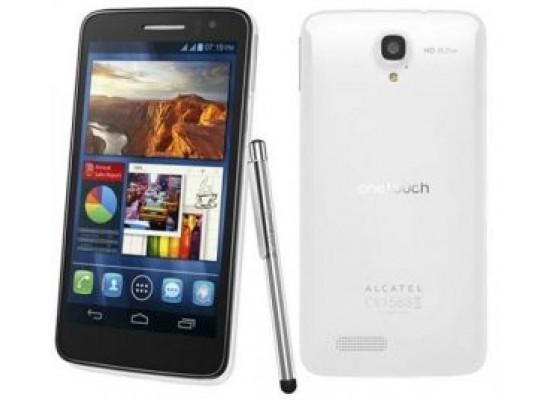 Alcatel Scribe HD 4GB 8MP Dual-SIM 3G 5-inch Smartphone - White
