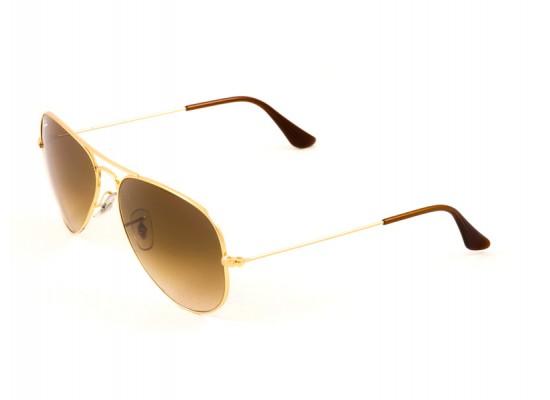 Ray Ban 3025 Aviator Sunglasses For Men Women Gold Frames