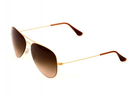 f4c219d9c9f8b7 Ray-Ban 3513 Aviator Sunglasses For Men   Women - Gold Frames   Brown  Lenses