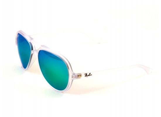 c42ddc53d4 Ray-Ban 4125 Aviator Sunglasses For Men & Women - White Frames & Green  Lenses   Xcite Alghanim Electronics - Best online shopping experience in  Kuwait
