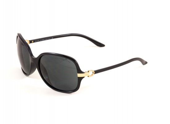 cba2789c2d Ralph Lauren 8064 Square Sunglasses For Women - Black Frames   Black Lenses