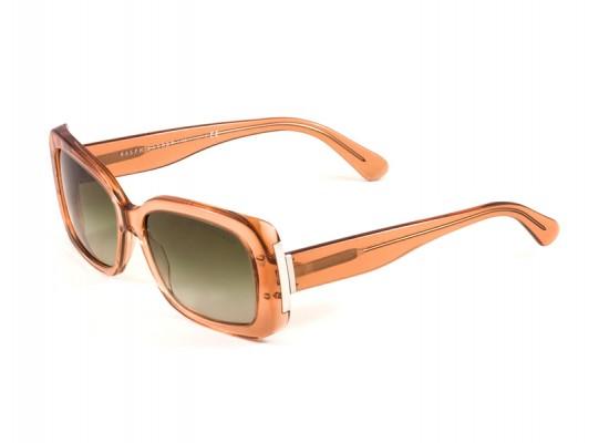 f21ad8e643 Ralph Lauren 8092 Square Sunglasses For Women - Beige Frames   Green Lenses