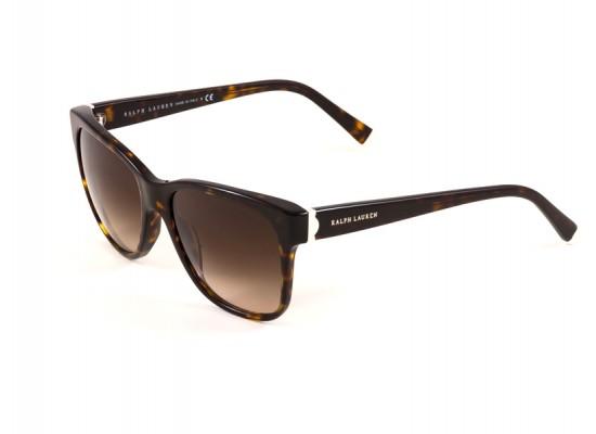 8c7383ebe2 Ralph Lauren 8115 Square Sunglasses For Women - Brown Frames   Brown Lenses