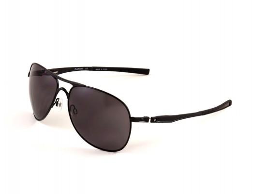 Oakley 4057 Aviator Sunglasses For Men - Black Frames & Black Lenses ...