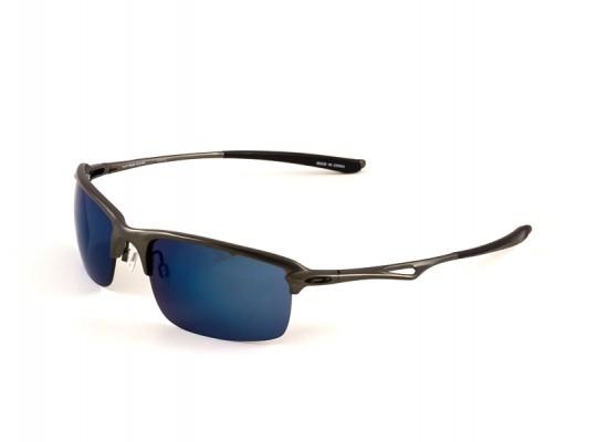 6112ad8b13 Oakley 4071 Square Sunglasses For Men - Grey Frames   Blue Lenses ...