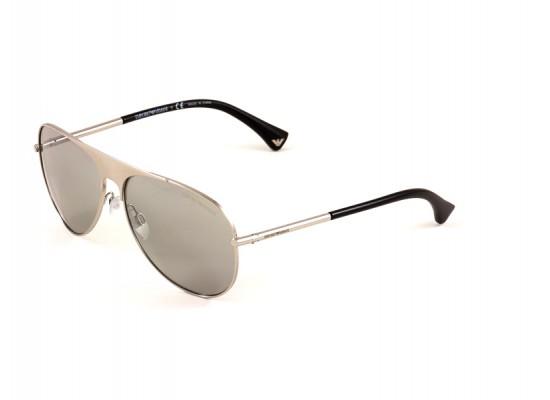 dca02da3d94 Emporio Armani 2003 Aviator Sunglasses For Men - Silver Frames   Grey Lenses