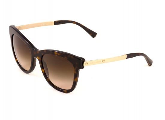 16e85ae47b5a Giorgio Armani 8011 Round Sunglasses For Women - Brown Frames   Brown  Lenses