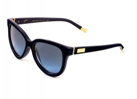 a555c416e105 Giorgio Armani 8024 Square Sunglasses For Women - Blue Frames   Blue Lenses