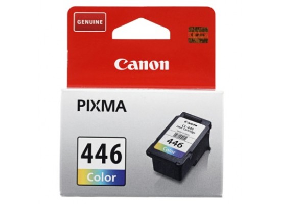CANON Ink 446 for Inkjet Printing 180 Page Yield - CMY (Tri Colour Pack)