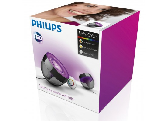 Philips LivingColors Table Lamp Iris Black - 70999/30/PU