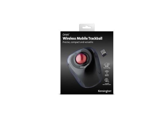 Kensington Orbit Trackball Wireless Mouse - Black