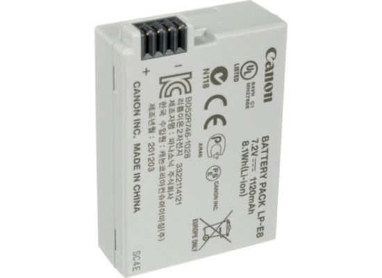 Canon LP-E8 1120 mAh Rechargeable Lithium-Ion Battery