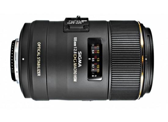 Sigma 105mm f2.8 DG Macro OS HSM Lens - Canon Mount