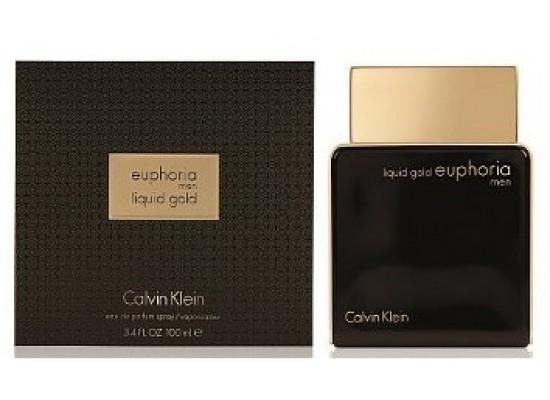 1633e529d1 Calvin Klein Liquid Gold Euphoria Perfume for Men 100ml | Xcite ...