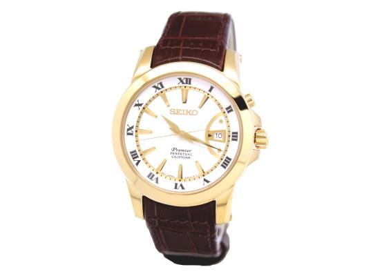 Seiko NQ144 Gents Watch - Leather Strap