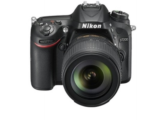 Nikon D-7200 24MP 18-140mm 3.2-inch DSLR Camera - Black