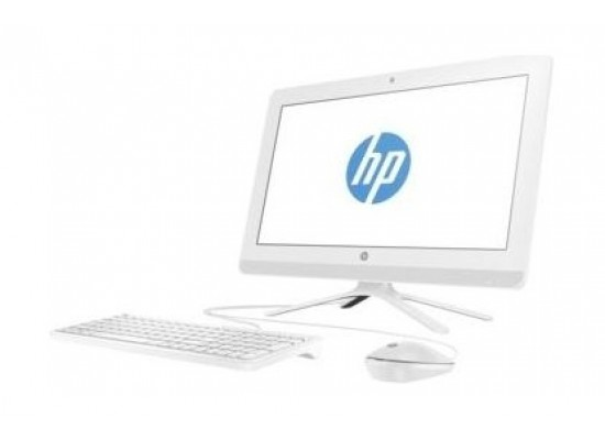 HP Intel Celeron 4GB RAM 1TB HDD 19.5- inch All-in-one Desktop (20-C040NE) - Snow White