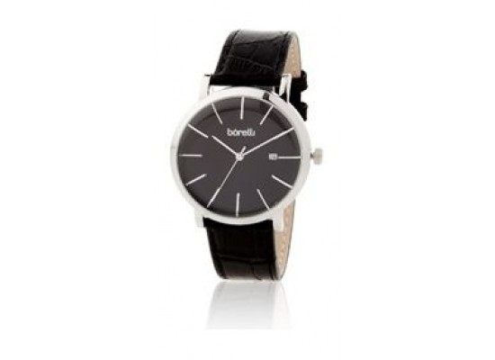 Borelli Quartz 40mm Analog Gent's Leather Watch - 20047674
