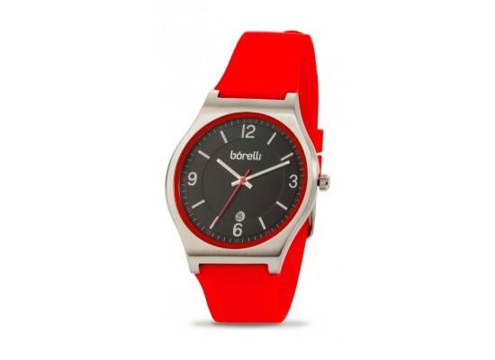 Borelli Quartz 40mm Analog Gent's Rubber Watch - 20050650