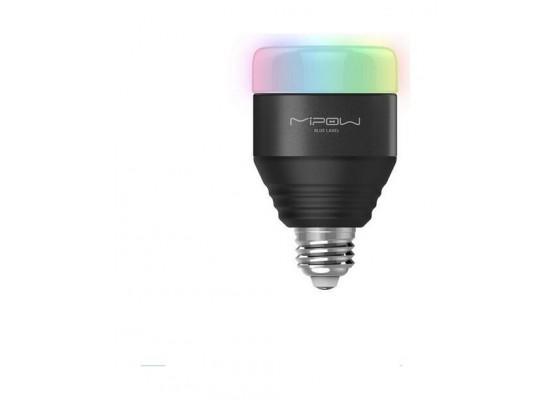 Mipow BTL201 Multi-Colored Bluetooth Smart LED Light Bulb - Black