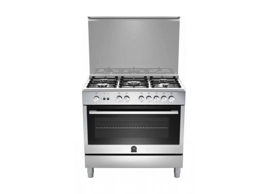 Lagermania 90x60 cm 5-Burner Floor Standing Gas Cooker (TUS95C81CX)