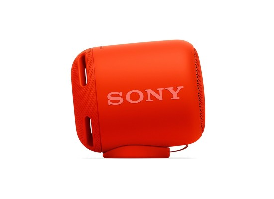 Sony Bluetooth Wireless Portable Speaker (SRS-XB10) - Red 4th view
