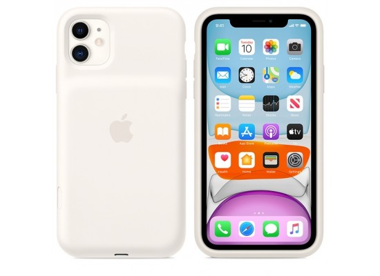 iPhone 11 Smart Battery Case - White