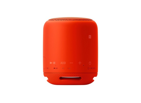 Sony Bluetooth Wireless Portable Speaker (SRS-XB10) - Red 3rd view