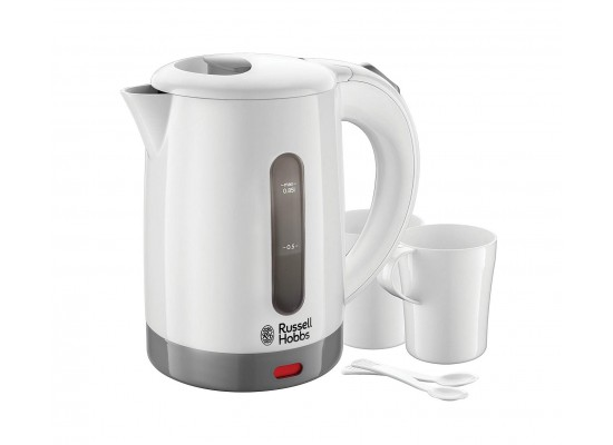 Russell Hobbs Travel Kettle 1000W (23840) - White